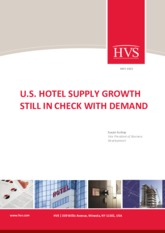 US hotel supply growth