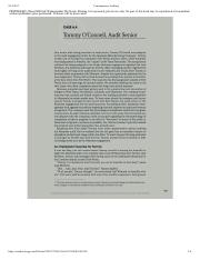 Case 6.4 - Tommy O'Connell, Audit Senior.pdf
