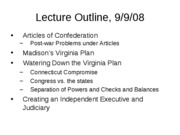 Lecture slides Fall 08 Sept 9 Constitutionpt2