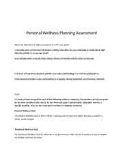 1.05 perosnal wellness planning assessment.rtf