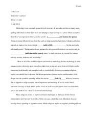 CGC research paper mythology (1)