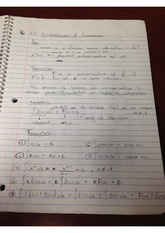 Antiderivatives and Integrals