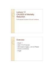 Lectures for Exam 2