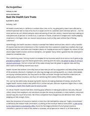 Reich_BustTheHealthCareTrusts_NYT