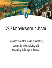 28.2 Modernization in Japan.ppt