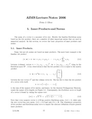 Iterative Methods for Linear Systems Notes