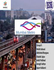 Mumbai_Metro_Group 8