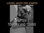 chapter 5 Toxicity and Toxins powerpoint