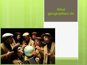 Lecture2-What+geographers+do