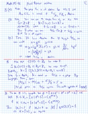 2011 Fall - Math 145-02 - Final Exam review solutions