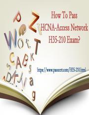 H35-210HCNA-Access Network dumps pdf - How To Pass HCNA