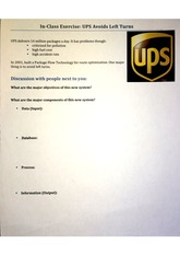 In-Class Exercise: UPS Avoids Left Turns