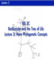 BIS 2C Lecture 2 (Before)