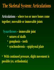 Articulations.PPT
