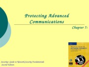 Ch07 - Protecting Advanced Communications