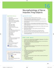 lab report neurophysiology of nerve impulses Start studying ch 18 neurophysiology of nerve impulses learn vocabulary, terms, and more with flashcards, games, and other study tools.