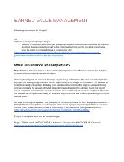 CIT 380 Group 6 - L05 Earned Value Management_.docx