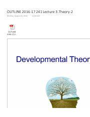 OUTLINE 2016-17 241 Lecture 3.Theory-2 v.pdf