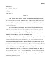 Self-Worth DC English Essay