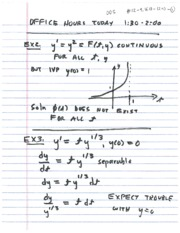 Differential Equations Lecture 12