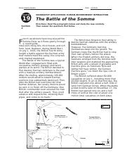 Module 19 Lesson 2 Battle of the Somme Worksheet.docx