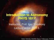 Astronomy Chapter 3