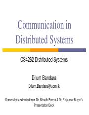 03 - Communication in Distributed Systems