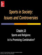 Sports and Religion (2)