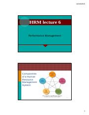 Lecture 6 HRM Perfomnace Apprisal [Compatibility Mode]