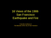 1906 San Fran Earthquake Picture