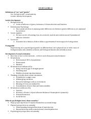 STUDY GUIDE psych 3
