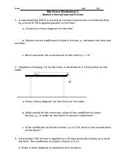 newtons-second-law-and-fbd-practice (1).docx - Name ...