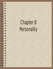4-1 Chapter 8 Personality.ppt
