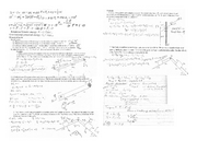 Physics formula sheet test 3
