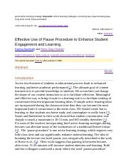 Learning-Active learning strategy.docx