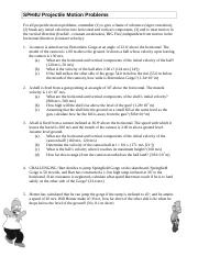 04_Worksheet - Projectile Problems.doc