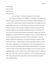 Essay about second chances