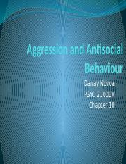L19 Aggression and Antisocial Behaviour I.pptx