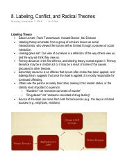 8. Labeling, Conflict, and Radical Theories.pdf