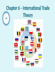 06.0 - Slides - Chapter 6 - Trade Theory