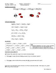 CH 3 - notes 3 - chemical equations