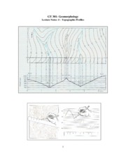 Geomorphology Notes 4
