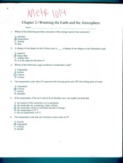 Chapter 2 - Warming the Earth