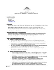 ISAT_CS 461 Syllabus SP2013_DRAFT