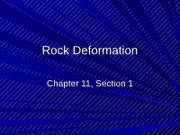 1 Rock Deformation