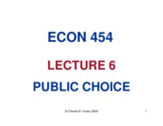 CHAPTER 6 PUBLIC CHOICE-4