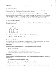 Summary Handout 07 - phrase structure and constituency