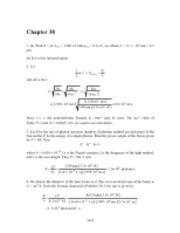 PHY2049 Chapter 38 Solutions