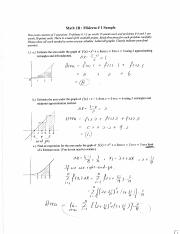 Sample Midterm Solutions #1