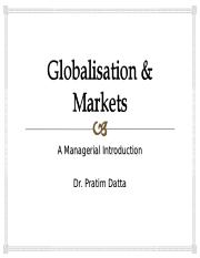 Globalisation and China Markets.ppt